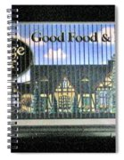 The Partridge And Pear Restaurant Spiral Notebook