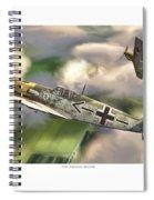 The Passage Below Spiral Notebook