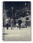 The Passage Of Time Spiral Notebook