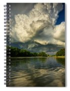 The Passing Storm Spiral Notebook