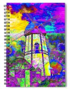 The Pastoral Dreamscape 20130730 Spiral Notebook