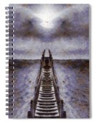 The Path To Heaven Spiral Notebook