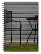 The Patio In Living Color Spiral Notebook