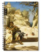 The Patrician's Siesta Spiral Notebook