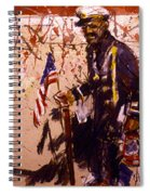 Use 2b So Ez - The Patriot Spiral Notebook