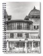 The Pavilion Penarth Pier Dreamy Spiral Notebook