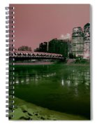 The Peace Bridge Spiral Notebook