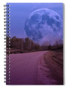 The Peace Moon  Spiral Notebook