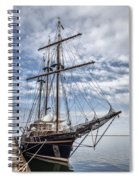 The Peacemaker Tall Ship Spiral Notebook