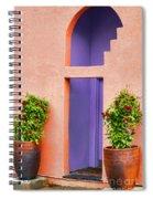 The Peach House  Spiral Notebook