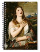 The Penitent Magdalene Spiral Notebook