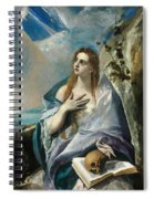 The Penitent Mary Magdalene Spiral Notebook