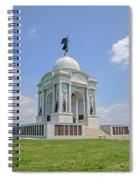 The Pennsylvania State Memorial Spiral Notebook