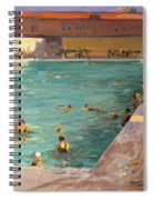 The Peoples Pool, Palm Beach, 1927 Spiral Notebook