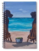 The Perfect Beach Day Spiral Notebook