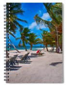 The Perfect Beach Spiral Notebook