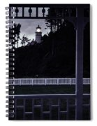 The Perfect Frame For The Heceta Lighthouse Spiral Notebook