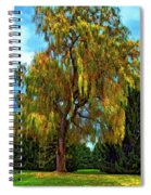The Perfect Swing II Spiral Notebook