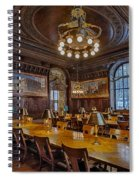 The Periodical Room At The New York Public Library Spiral Notebook