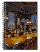 The Periodicals Room At The New York Public Library Spiral Notebook