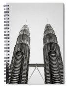 The Petronas Towers Malaysia Spiral Notebook
