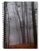 The Phantom Rises Spiral Notebook