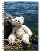 The Philosopher - Teddy Bear Art By William Patrick And Sharon Cummings Spiral Notebook