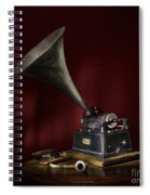 The Phonograph 5 Spiral Notebook