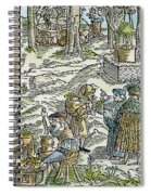 The Physic Garden, 1531 Spiral Notebook