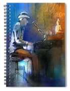 The Pianist 01 Spiral Notebook