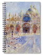 The Piazza San Marco Spiral Notebook