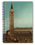 The Piazza San Marco Venice Spiral Notebook