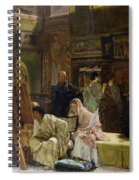 The Picture Gallery, 1874 Spiral Notebook
