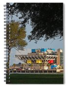The Pier - St. Petersburg Fl Spiral Notebook