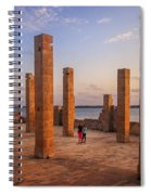 The Pillars Of The Earth Spiral Notebook