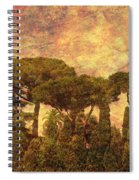 The Pines Of Rome Spiral Notebook