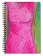 The Pink Dress Spiral Notebook