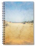 The Pinnacles In Western Australia Spiral Notebook