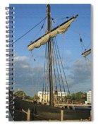 The Pinta Spiral Notebook