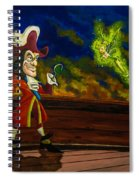 The Pirate And The Fairy Spiral Notebook