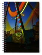 The Pirate Ship And Big Wheel  Spiral Notebook