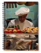 The Pizza Maker Spiral Notebook