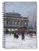The Place Du Chatelet Paris Spiral Notebook