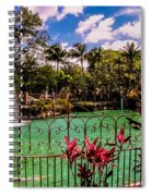 The Place To Relax Spiral Notebook