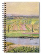 The Plain Of Gennevilliers From The Hills Of Argenteuil Spiral Notebook