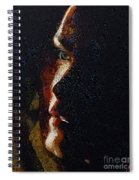 The Play Of Light Spiral Notebook