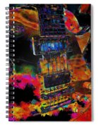 The Player - Guitar Art Spiral Notebook