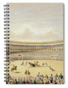 The Plaza De Toros Of Madrid, 1865 Spiral Notebook