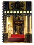 The Plaza Hotel Spiral Notebook