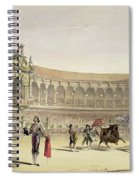 The Plaza Of Seville, 1865 Spiral Notebook